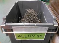 Alloy20切粉